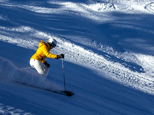 private ski lessons in megeve